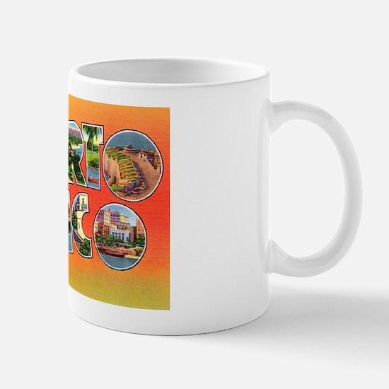 Puerto Rico Greetings Mug