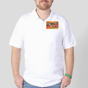 Puerto Rico Greetings Golf Shirt