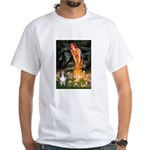 MidEve Sheltie (S) White T-Shirt