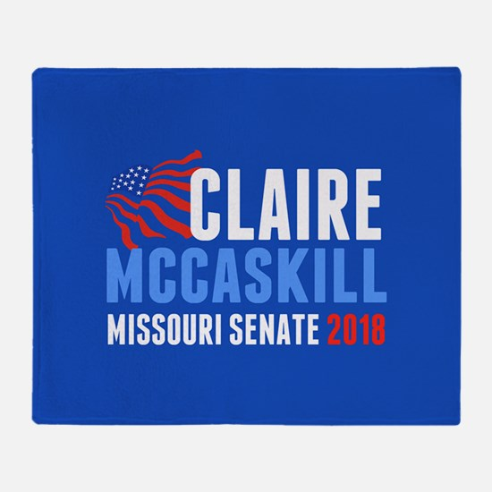 Claire McCaskill 2018 Throw Blanket