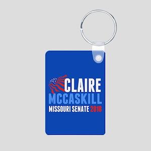 Claire McCaskill 2018 Aluminum Photo Keychain