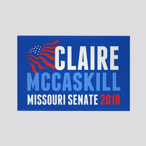 Claire McCaskill 2018 Rectangle Magnet