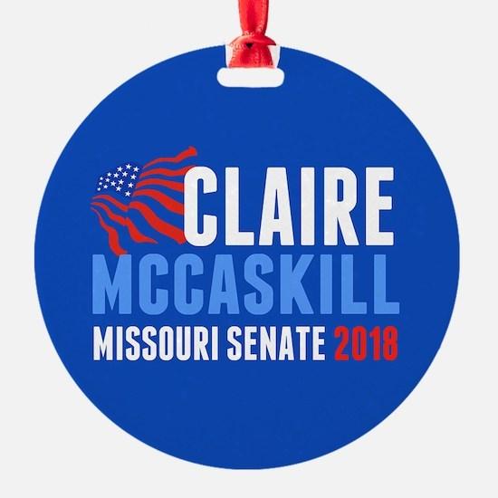 Claire McCaskill 2018 Ornament