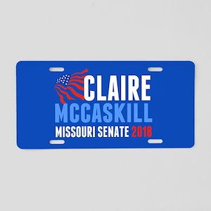 Claire McCaskill 2018 Aluminum License Plate