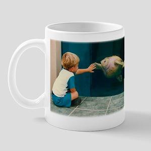 Boy and Turtle Mug