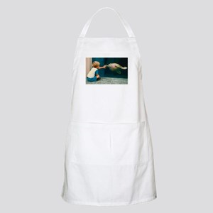 Boy and Turtle BBQ Apron