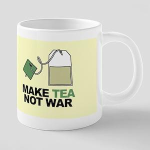 Make Tea Not War Stainless Steel Travel Mugs