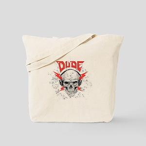 DUDE SKULL Tote Bag