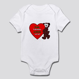 Italian Valentine Day Infant Bodysuit