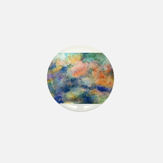 Abstract Mini Button