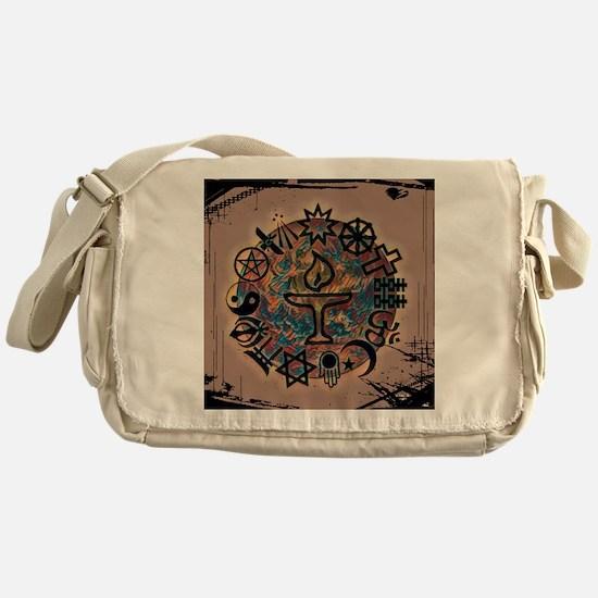Unique Unitarian universalism Messenger Bag