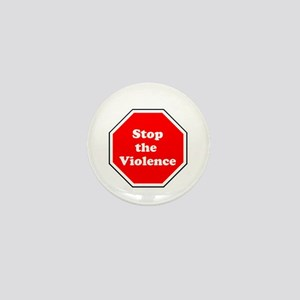 Stop the violence Mini Button