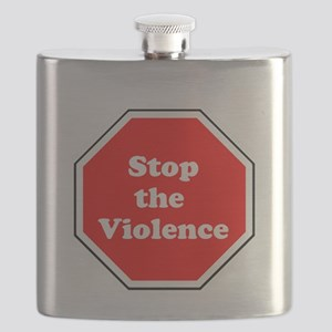 Stop the violence Flask