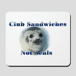 Club Sandwiches Mousepad