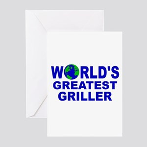 World's Greatest Griller Greeting Cards (Pk of 10)