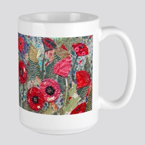 Poppy Fields Stainless Steel Travel Mugs