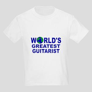World's Greatest Guitarist Kids Light T-Shirt