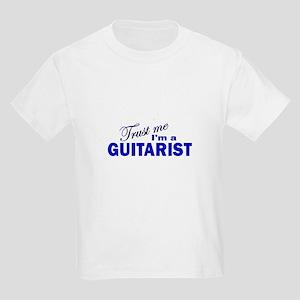 Trust Me I'm a Guitarist Kids Light T-Shirt