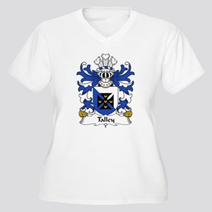Talley Family Crest Women's Plus Size V-Neck T-Shi