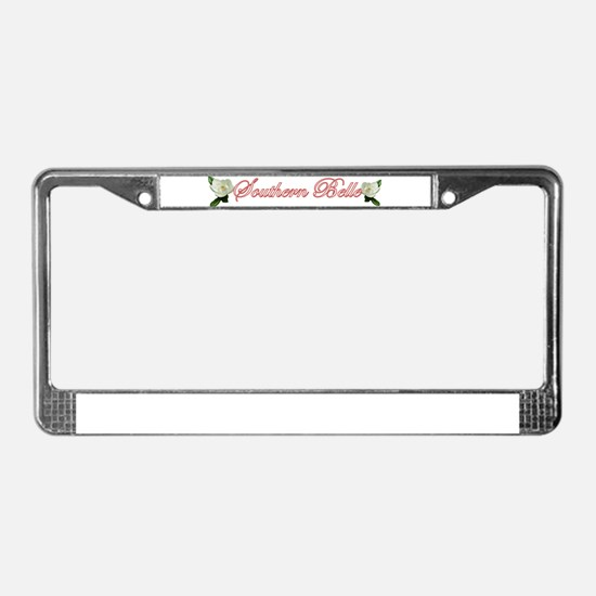 Southern Belle License Plate Frame