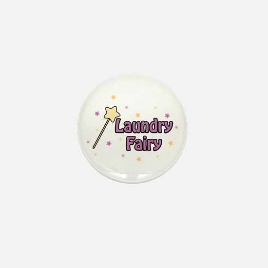 Laundry Fairy Mini Button