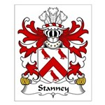 Stanney Family Crest Small Poster