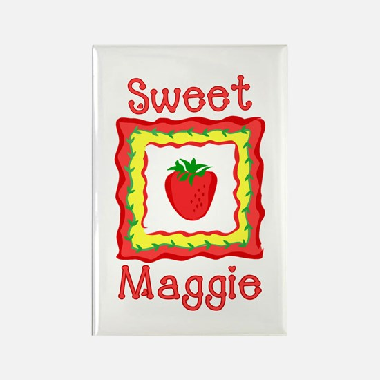 Sweet Maggie Rectangle Magnet