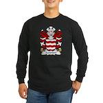 Sandford Family Crest Long Sleeve Dark T-Shirt