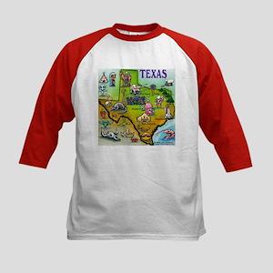 Texas Kids Baseball Jersey