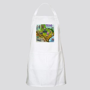 Texas Map BBQ Apron