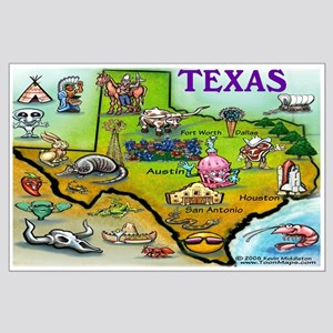 Texas Large Poster