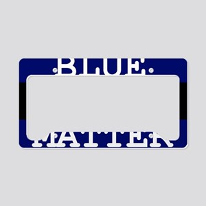 BLUE LIVES MATTER License Plate Holder