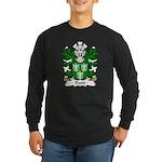 Ruste Family Crest Long Sleeve Dark T-Shirt