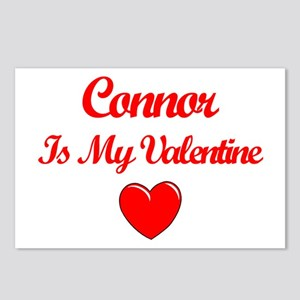 Connor is my Valentine  Postcards (Package of 8)