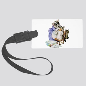 Moppet Gets a Bath by Beatrix Potter Luggage Tag