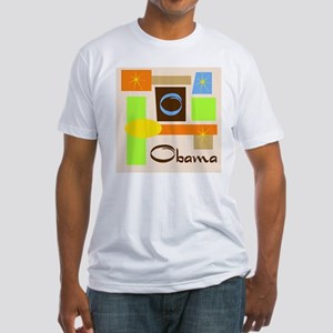 Fresh Obama Fitted T-Shirt