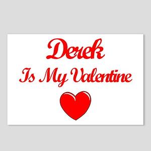 Derek is my Valentine  Postcards (Package of 8)