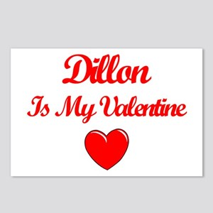 Dillon is my Valentine  Postcards (Package of 8)