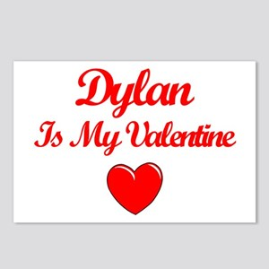 Dylan is my Valentine  Postcards (Package of 8)