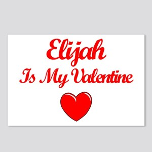 Elijah is my Valentine  Postcards (Package of 8)