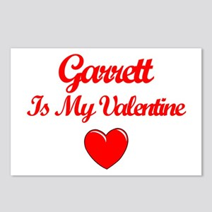 Garrett is my Valentine  Postcards (Package of 8)