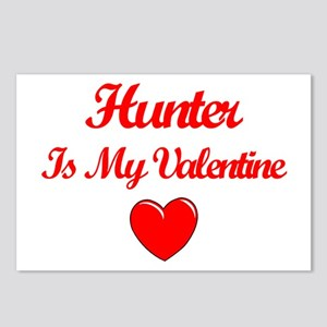 Hunter is my Valentine  Postcards (Package of 8)