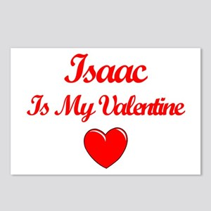 Isaac is my Valentine  Postcards (Package of 8)