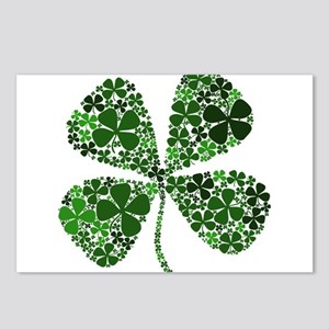 Extra Lucky Four Leaf Clover Postcards (Package of