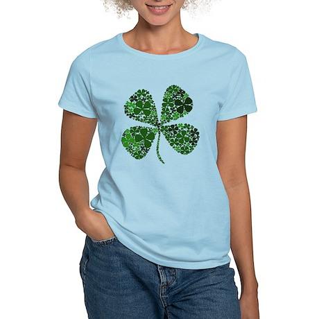 Extra Lucky Four Leaf Clover Women's Light T-Shirt