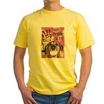 Happy Birthday Yellow T-Shirt