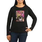 Happy Birthday Women's Long Sleeve Dark T-Shirt