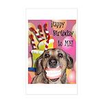 Happy Birthday Sticker (Rectangle)