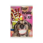 Happy Birthday Rectangle Magnet (100 pack)