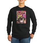Happy Birthday Long Sleeve Dark T-Shirt
